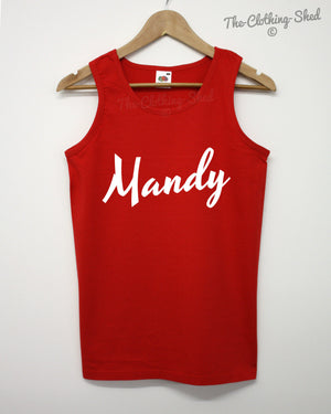 Mandy Vest Drugs MDMA Funny Joke Party Novelty Gift Funny Christmas Birthday