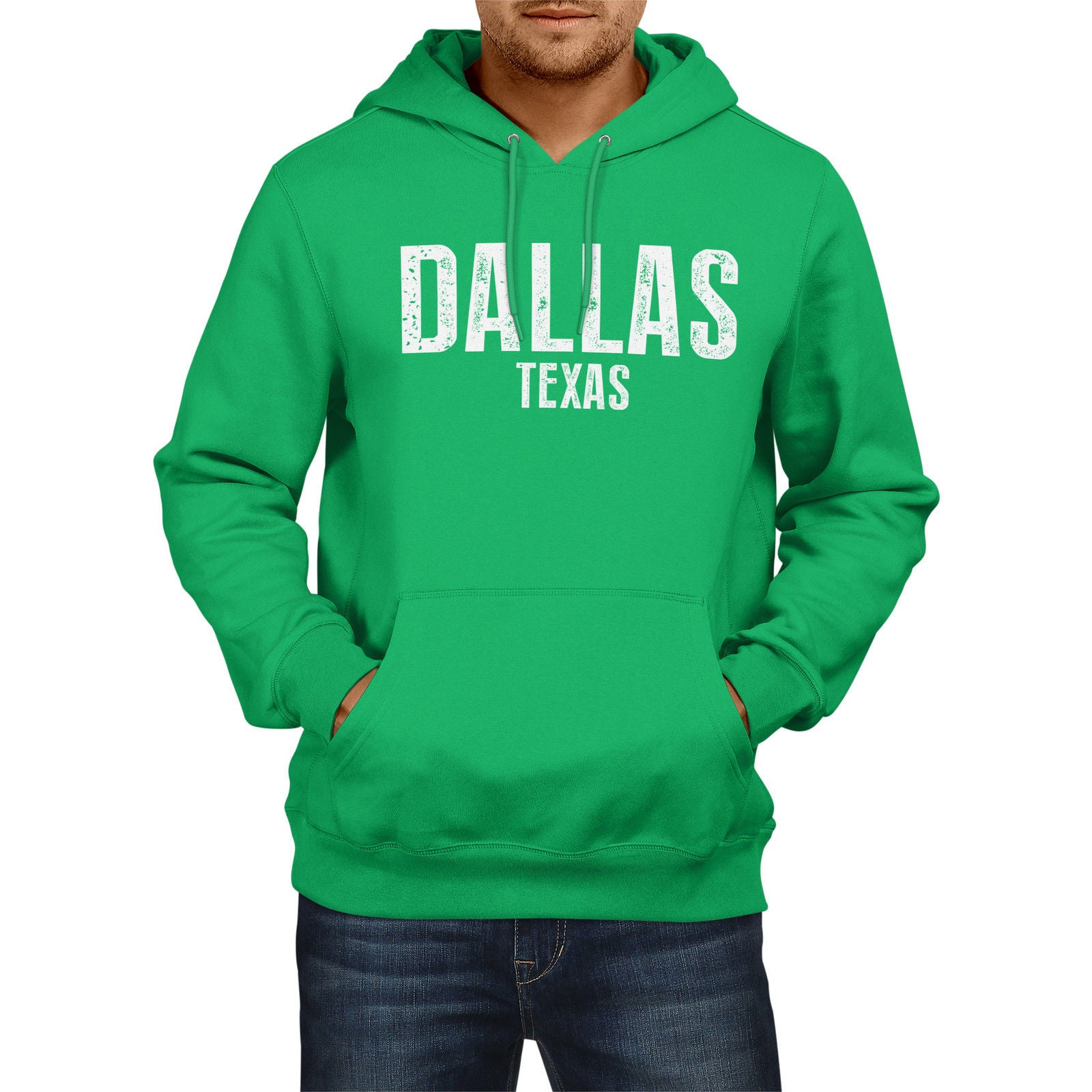 size 40 d3aff e63e0 DALLAS TEXAS American Home State Hoodie Mens Womens USA Boys Girls Cowboys  - The Clothing Shed