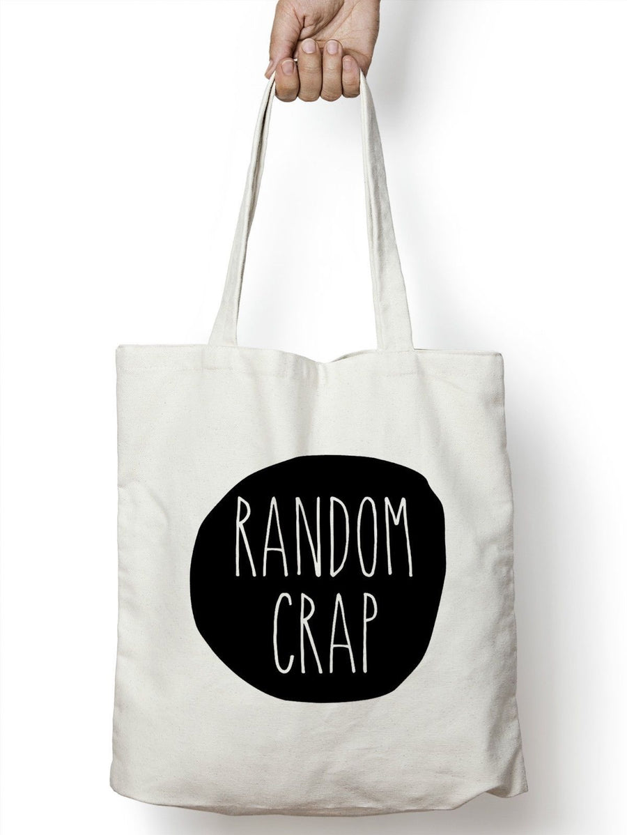 Random Crap Tote Bag Shopping Gift Present Teenager Blogger Vlogger Girls  M03