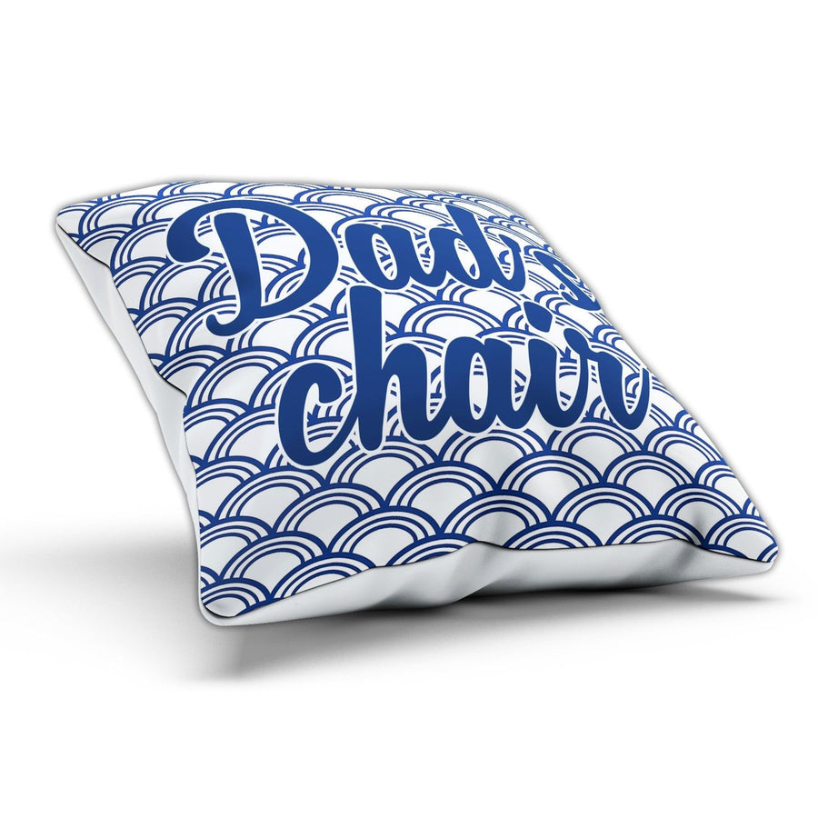 Dads's Chair Cushion Pillow Birthday Gift Fathers Day Grandad Gift Present Joke
