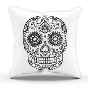 Candy Skull CUSHION Home Design Fashion Interior Modern Bedroom Living Tumblr