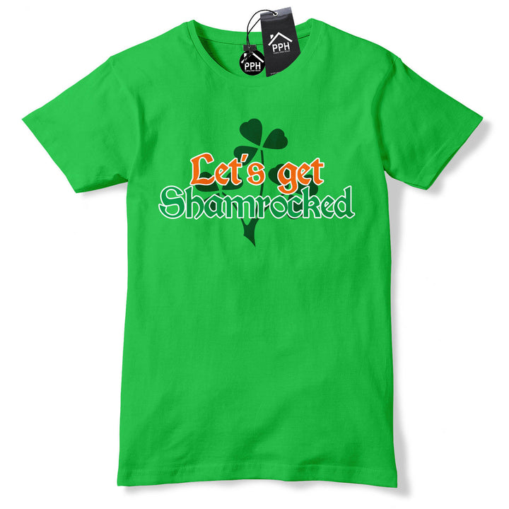 Lets Get Shamrocked Ireland St Patricks Day Baby Grow Gift Babygrow Suit P14