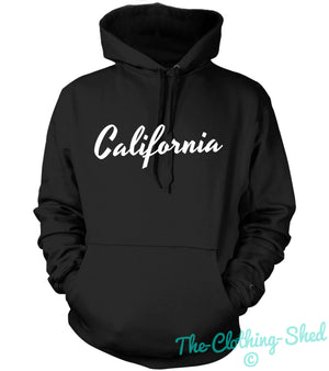 CALIFORNIA COOL HOODIE HOODY MEN WOMEN KIDS STREETWEAR URBAN HIPSTER