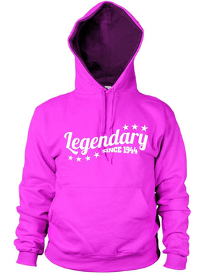 Legendary Since 1944 Hoodie Gift Birthday Present 72 73 years old Mens Women Dad