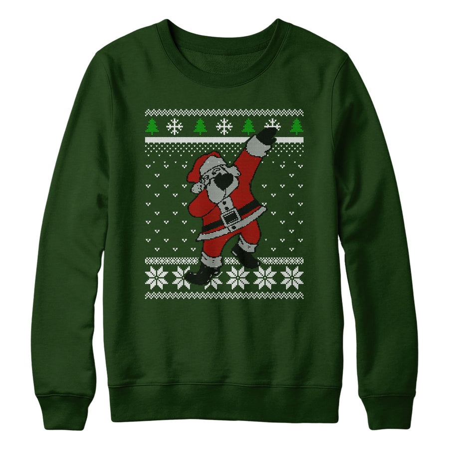 Kids Dabbing Santa Jumper Christmas Sweatshirt Day Boys Cool School Men L156