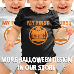 My First Halloween Babygrow Romper Suit Baby Clothing Fancy Outfit Mummys B43
