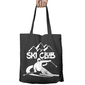 Ski Club Alpine Skiing top Snow Shopper Tote Bag Ski Snowboard Shopping Gift 497