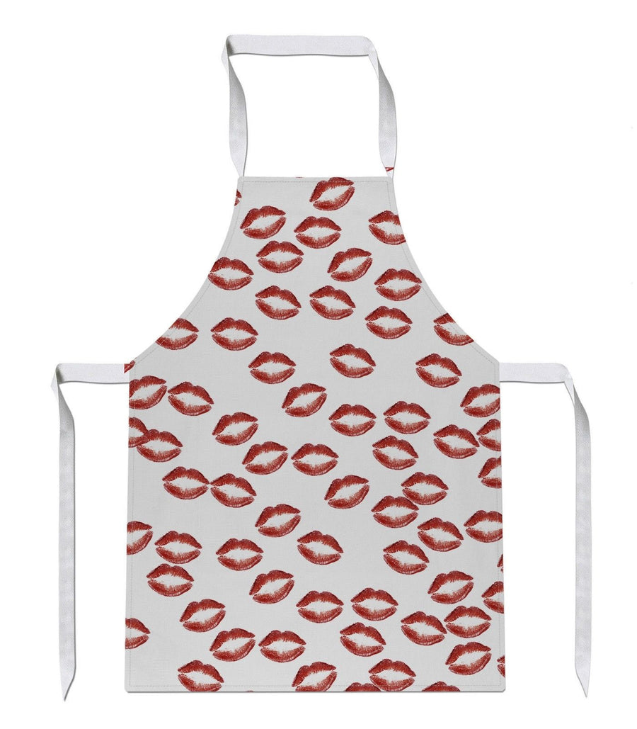 Kisses All Over APRON Date Hot Present Valentines Gift Love Romance Chef Present