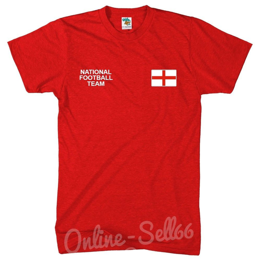 England National Football Team Tshirt Brazil World Cup Commonwealth Supporters