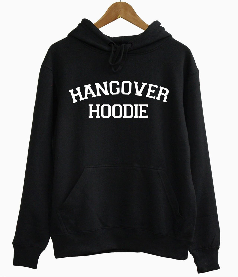 HANGOVER HOODIE WEEKEND PARTY DRUNK DRINKING GAMES SUNDAY SLUMBER CHILLIN GIFT