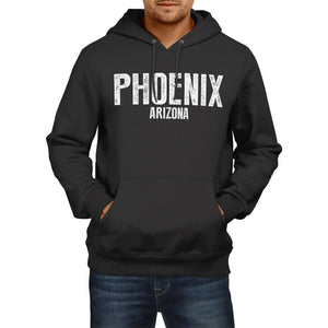 PHOENIX ARIZONA American Home State Hoodie Mens Womens USA America  Football