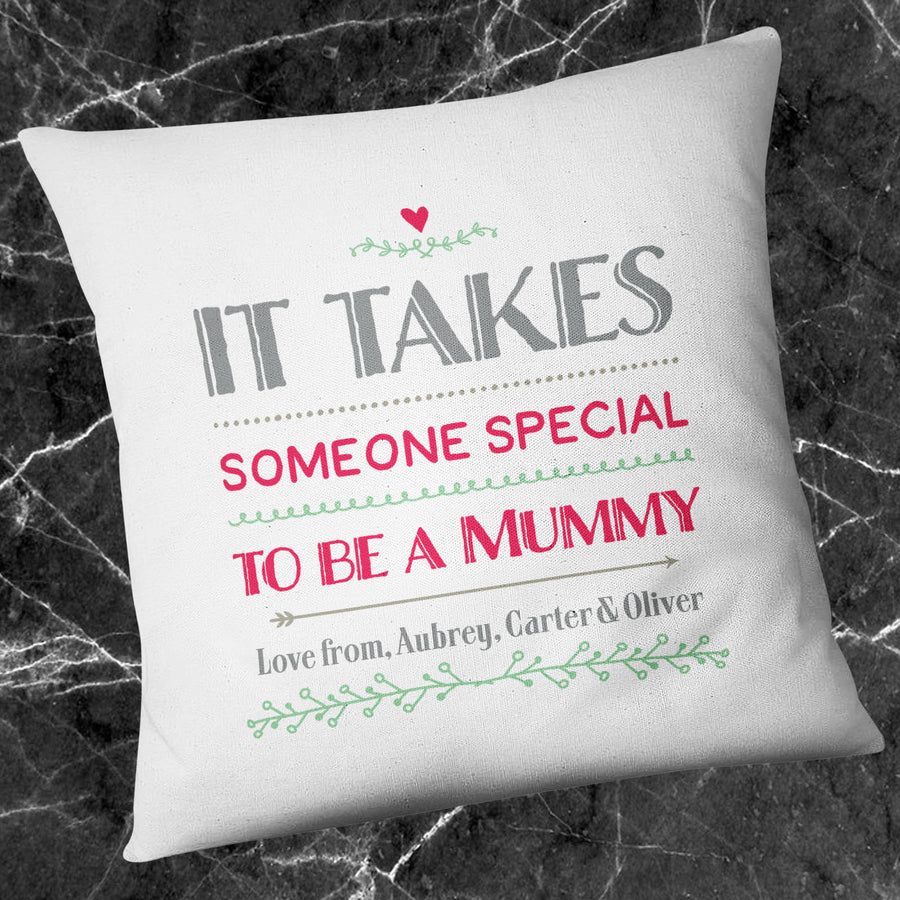 Someone Special Mummy Cushion Custom Names Quote Mothers Day Persona Gift EM221