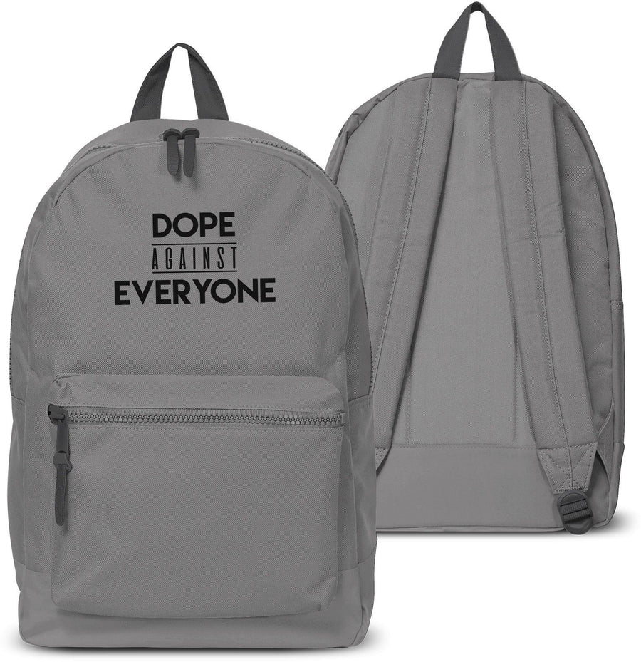 Dope Against Everyone Back pack Street Style Love Hipster Holdall School 17