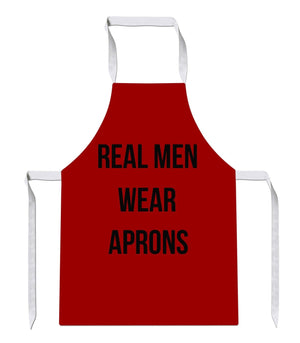 Real Men Wear Aprons Luxury Novelty Funny APRON Kitchen Tabard Linen 14