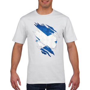 Scotland T Shirt TORN Rugby 6 Nations Tshirt Football Mens Womens Boys 850