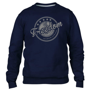 Freedom Sweater Mermaids Anchor Sea Hipster Winter Cold Hoody Star Waves