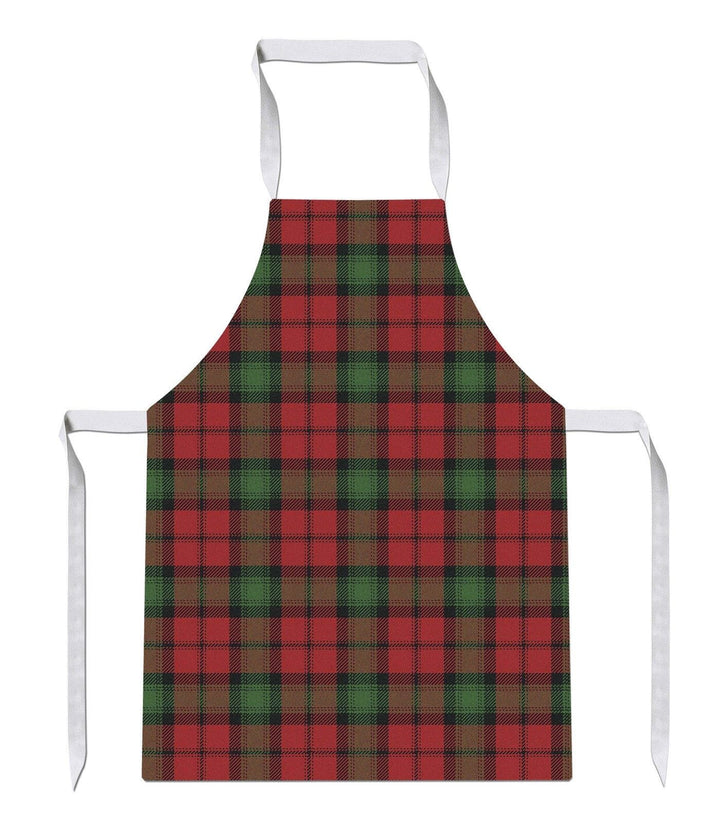 Red Green Tartan Print Kitchens Novelty Funny APRON Kitchen Tabard Linen 20