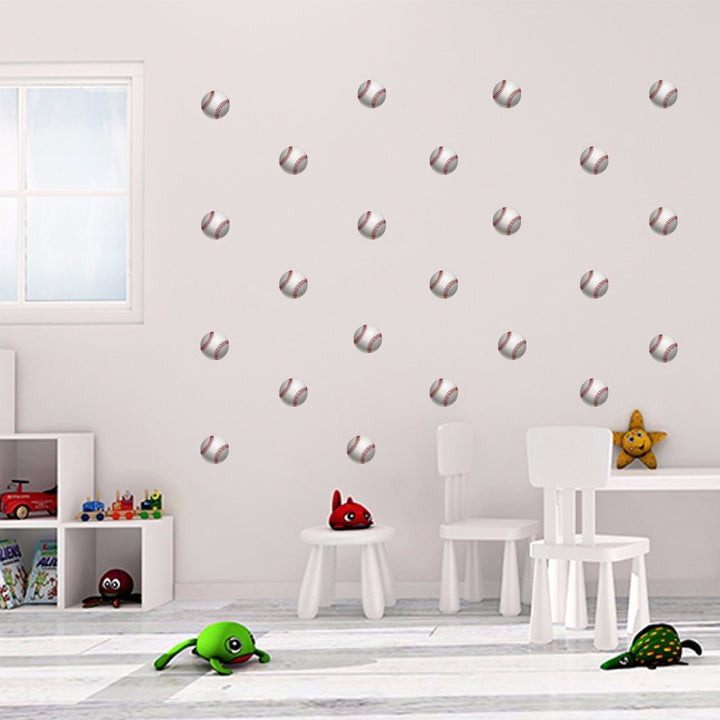 Baseball Wall Vinyl Kids Nursery Bedroom Wall Art Stickers Decals Wall Graphics
