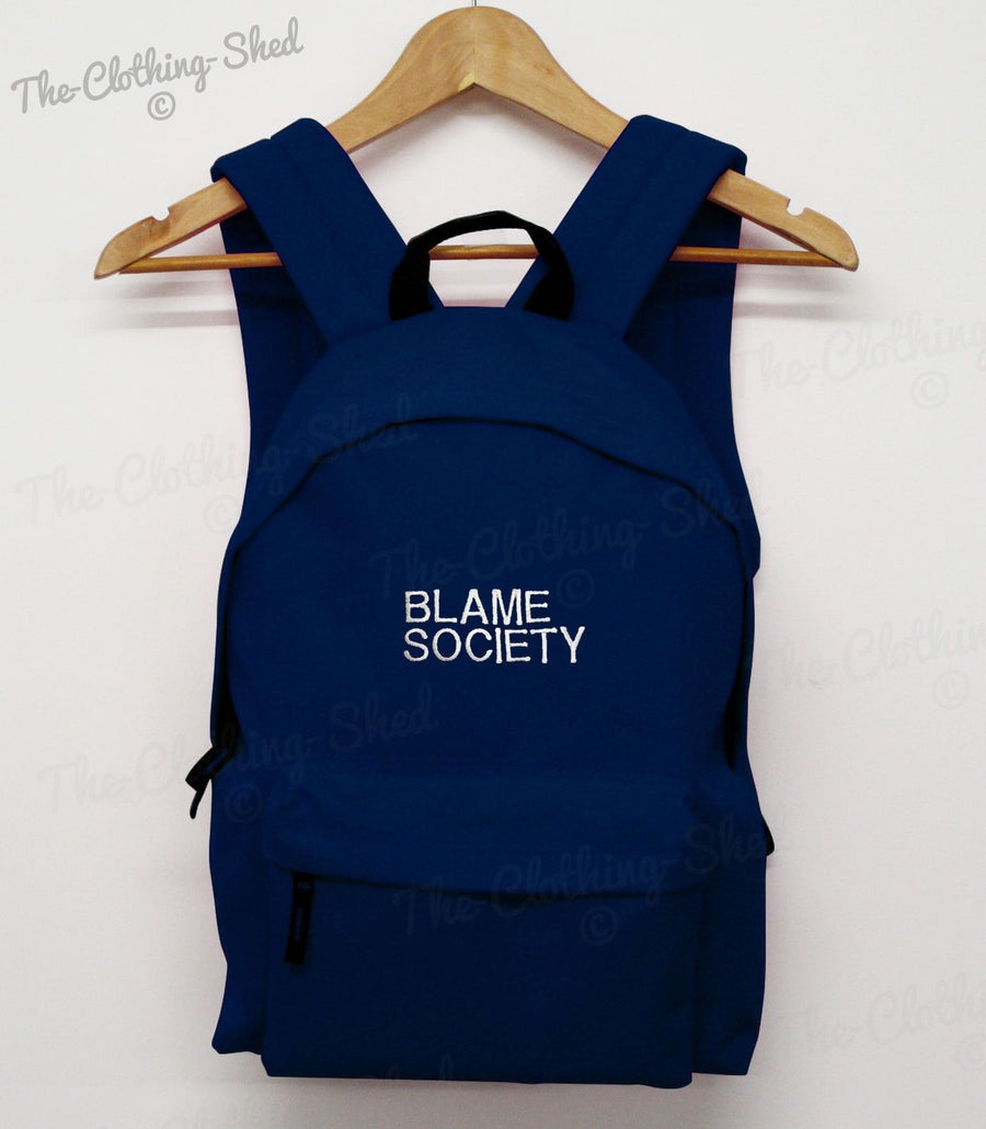 BLAME SOCIETY BAG COLLEGE JAY ILLUMINATY BACK PACK Z SCHOOL SWAG DOPE RUCK SACK