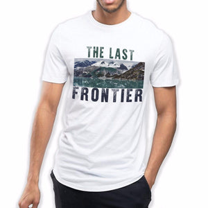 Alaska The Last Frontier T Shirt Fishing Mountains Mens Street Dope Fashion 703