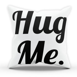 Hug Kiss Love Me Pillow Cushion Pad Cover Case Bed Home Decor BF GF Wedding