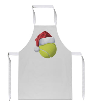 Tennis Ball Christmas Hat Apron 128 Sublimation Sport Chef Cooking Dad Brother