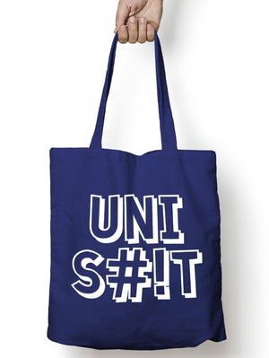Uni S#!t Shopper Tote Bag Shopping University College Present Gift Cheap Bag M54