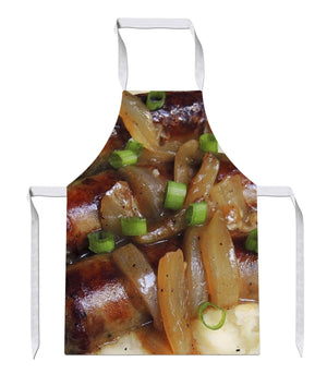 Sausage and Mash All Over Baking Novelty Funny Bake Cook APRON Kitchen Tabard 54