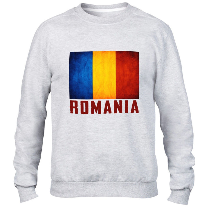 Romania Mens Sweatshirt Women Sport Sweater All Sizes Football training