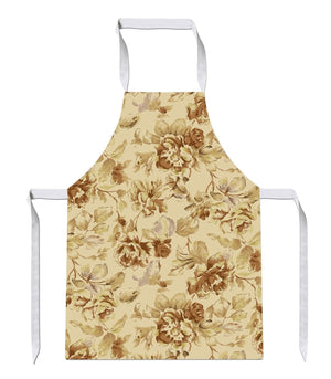 Vintage Flower Floral Print Kitchens Novelty Funny APRON Kitchen Tabard Linen 25