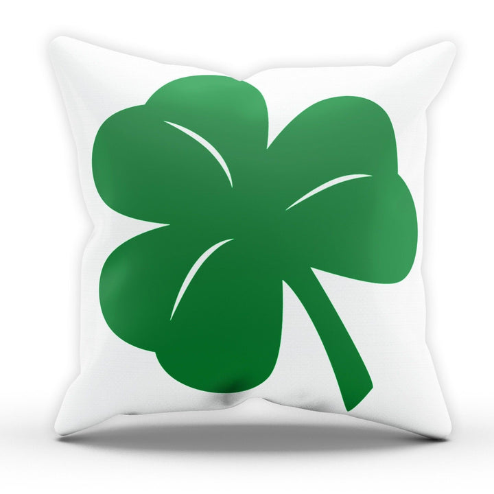 Shamrock St Patricks Day Pillow Cushion Cover Case Present Gift Ireland Irish