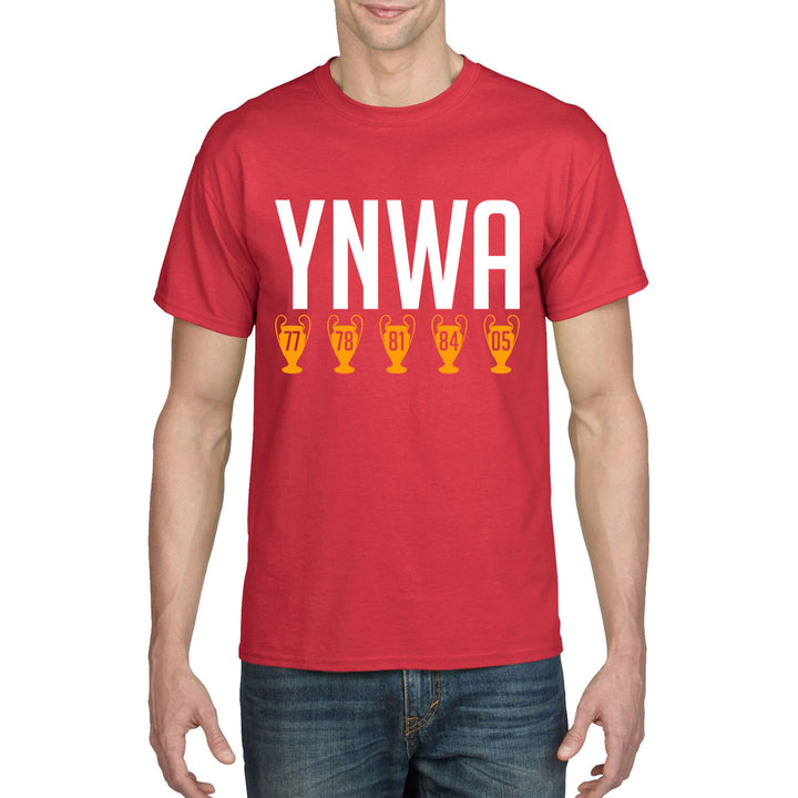 YNWA Liverpool Football T Shirt Champions League Youll Never Walk Alone Top 901