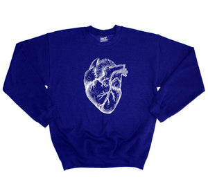Heart Organ Sweater Religion Blood Hipster Beard Swag Grunge Emo Gothic