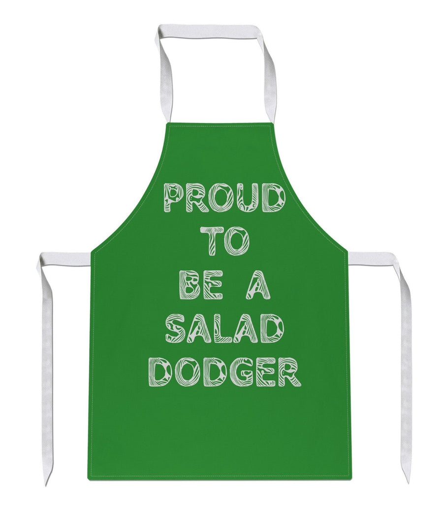 Proud To Be A Salad Dodger Apron Funny Gift Present Food Fat Chef Cooking 178