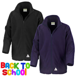 Result Core Children's Micron FLEECE Jacket Coat School Uniform Boys Girl R114JY