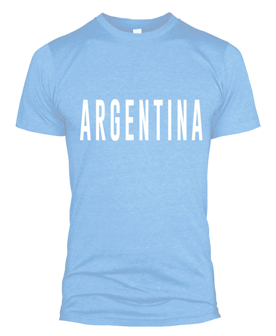 Argentina Text Retro Football T Shirt Kit Fan World Cup 2018 Buy Men Messi L254