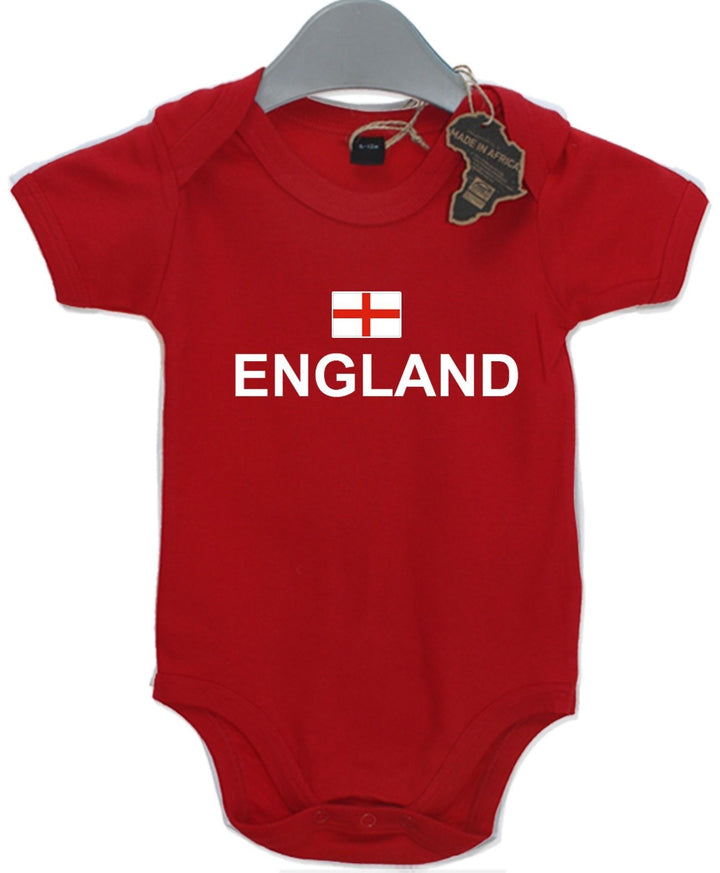 England Gift Baby Grow Birthday Present Unisex BabyGrow Playsuit Football Rugby