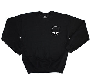 ALIEN LOGO SWEATER SWEATSHIRT JUMPER HIPSTER INDIE FASHION STYLE WHERE TO GET IT