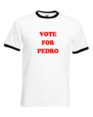 Vote For Pedro T Shirt Funny Movie Napoleon Dance Comedy Fancy Dress Costume
