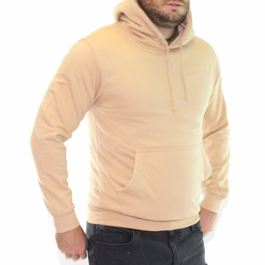 Sand Tan Light Pink Pastel Coloured Mens Womens Hoodie Hoody Sweatshirt Yeezy
