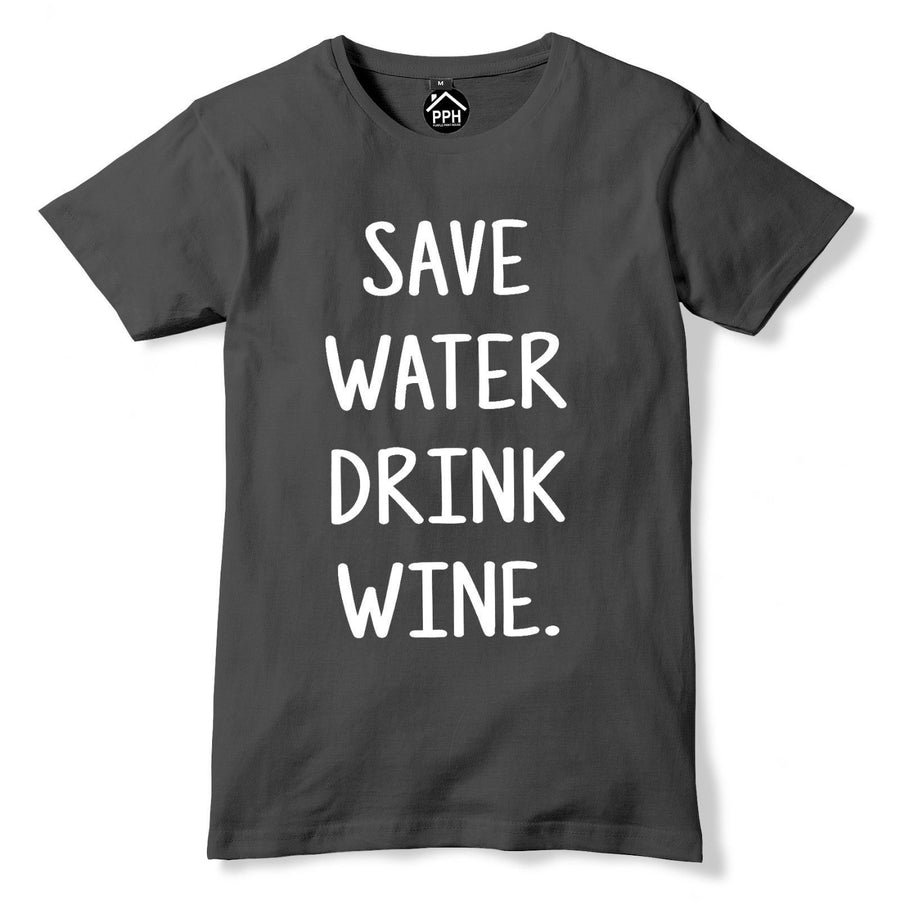 Save Water Drink WINE Tshirt Drunk Drink Womens Champagne Prosecco t shirt PP64