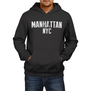 Manhattan NYC American State Hoodie Mens Womens Boys Girls New York City USA