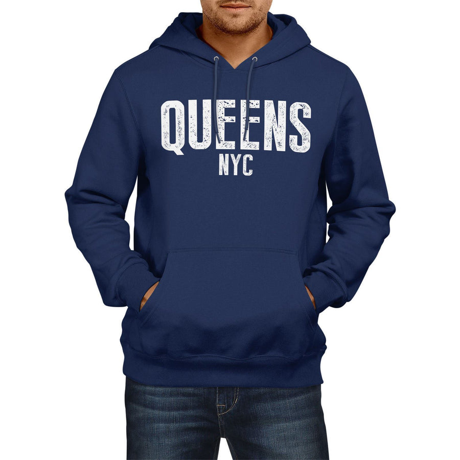 Queens BLV NYC American State Hoodie Mens Womens Boys Girls New York City USA