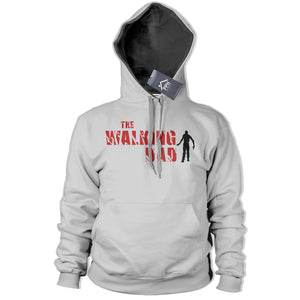 The Walking Dad Hoodie Fathers Day Zombie Top Apocalypse Gaming Dead Walkers 219