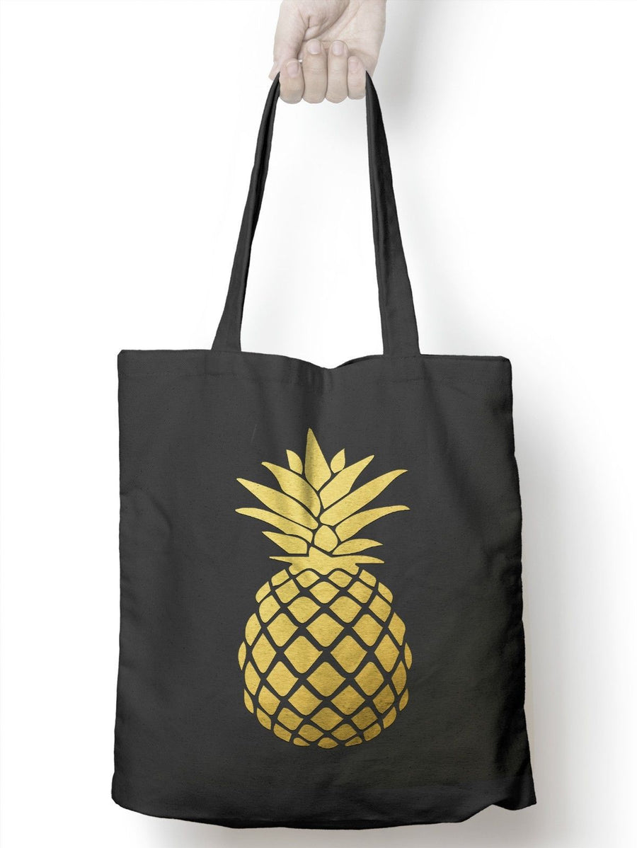 Pineapple Tote Shopping Bag Fruit Fashion Recycle Girls Present Shop Charge M20