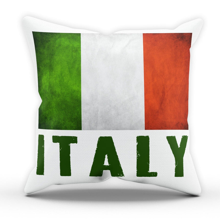 Italy Flag Pillow Cushion Pad Cover Case Bed National Country Gift Azzuri Italia