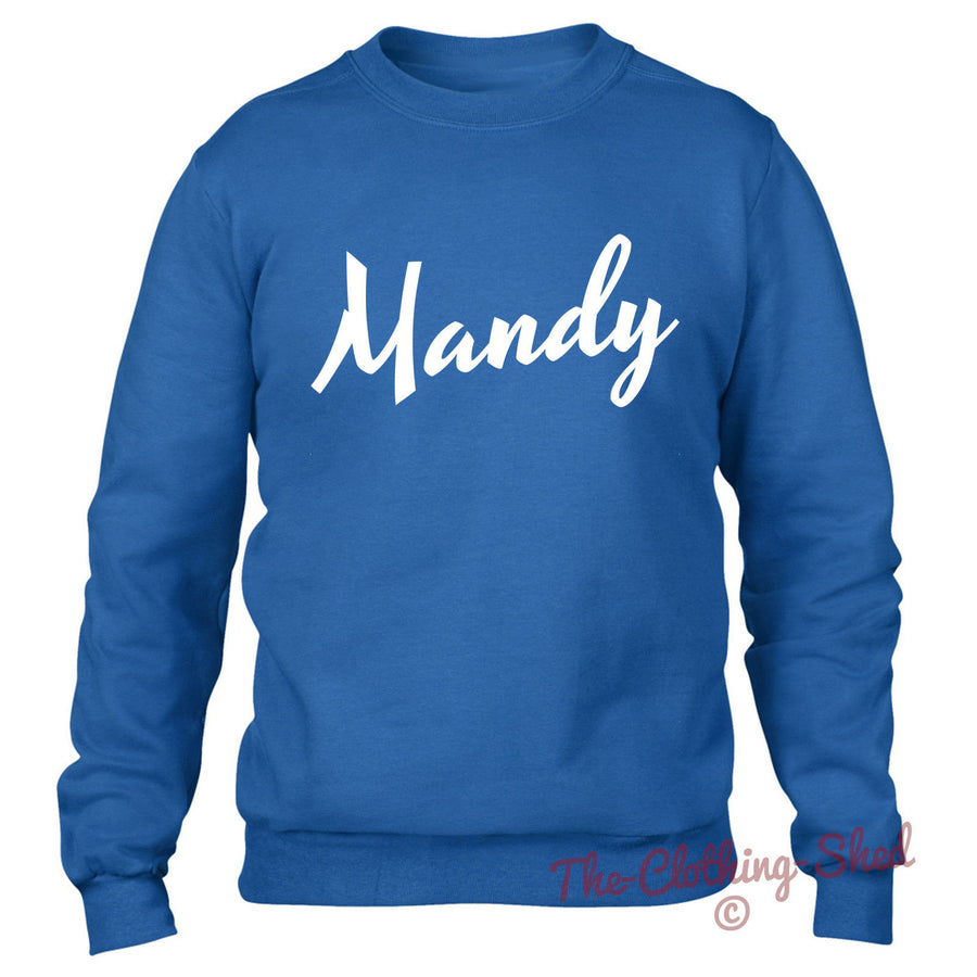 MANDY SWEATER MENS WOMENS KIDS PARTY DRUGS DOPE HIPSTER SWAG MD MOLLY