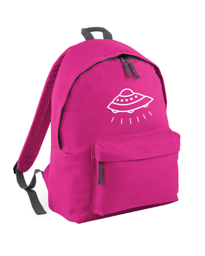 UFO Doodle Backpack School Bag for Girl Boy Hipster Skate Punk Teenage L62