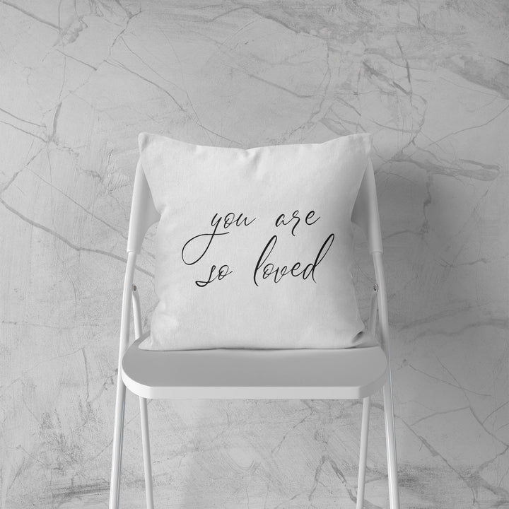 You Are So Loved Cushion Romantic Gift Room Decor Valentines Day Present EM177