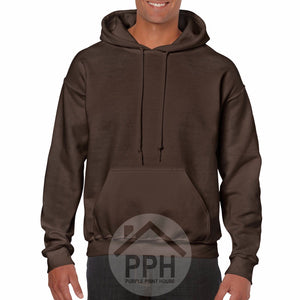 Adults Gildan Hoodie Mens Womens Unisex Plain All Colours Supplier Wholesale